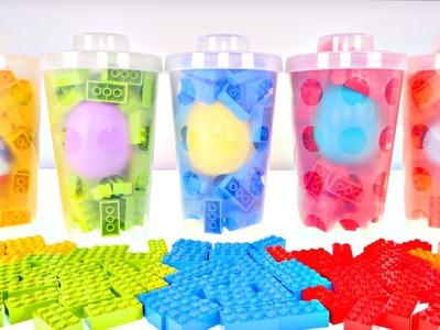 Kinder Lego Cups SURPRISE EGGS Disney Inside Out Paw Patrol Frozen Toys