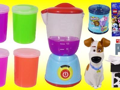 Magical SLIME Blender! Turns Gooey Slime into TOYS & Blind Bags! MLP Shopkins Disney LEGO DORY!