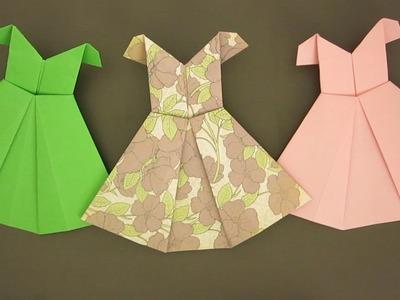 ORIGAMI EASTER DRESS