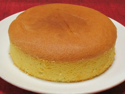 Sponge cake recipe for beginners - How to make soft cake from scratch - Easy to follow