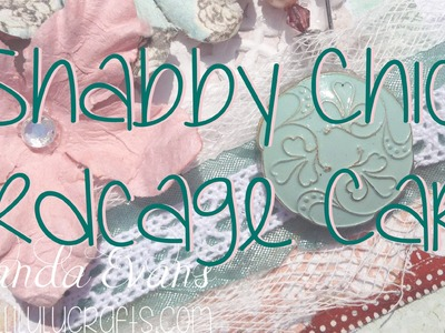 Vintage Shabby Chic Style Birdcage Card