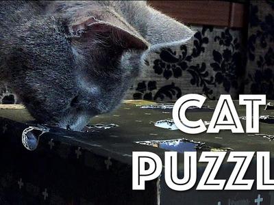 DIY | Cat Puzzle Feeder Toy