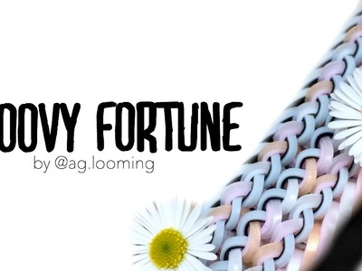 Groovy Fortune | Hook Only Design by @ag looming | Rainbow Loom