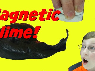 How To Make Magnetic Slime - DIY Science Experiment | CollinTV