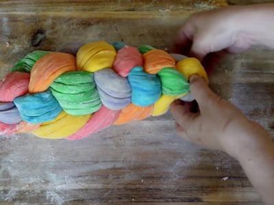 How to make rainbow challah