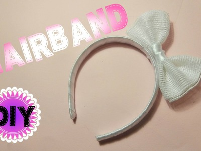 Kako napraviti rajf sa masnicom. DIY hairband. Collab with Milica Creative World