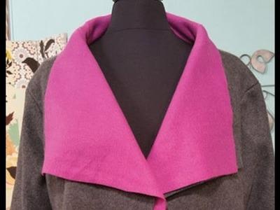 Angela Wolf Sews a Polar Fleece Jacket on It's Sew Easy (1003-1)