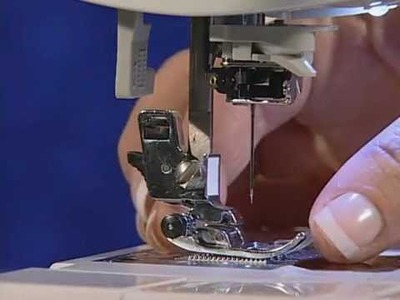 Brother - Changing the presser foot