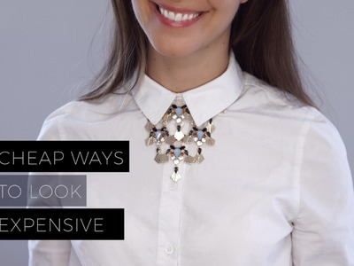 Cheap Ways to Make Your Wardrobe Look Expensive