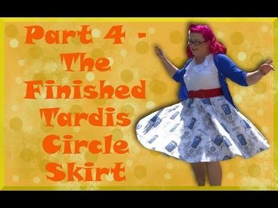 DIY Full Circle Skirt (Part 4) - So Sew Vintage