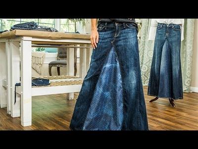 DIY – Orly Shani's DIY Maxi Jean Skirt – Hallmark Channel