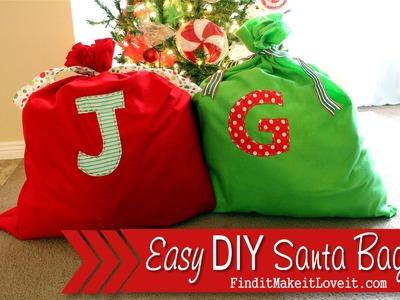 DIY Santa Bag