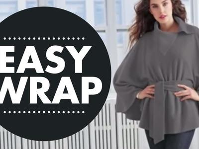 Easy to make, No Sew Wrap