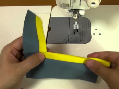 How to Apply Bias Tape.バイアステープの縫い方凹編