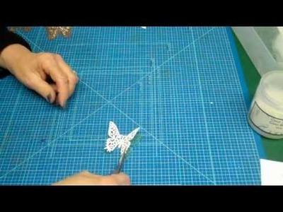How To Make Beaded Spellbinders Butterflies
