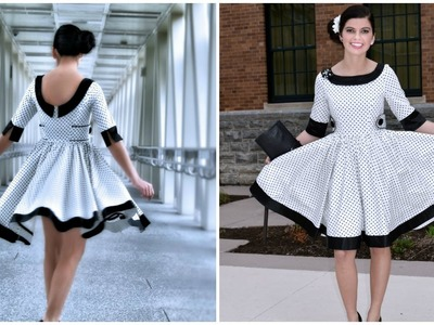 How to sew a 50ies dress - Teen Vivienne Pattern