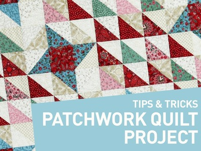 Patchwork quilt project: Perfect points every time   Craftsy Quilting Patterns