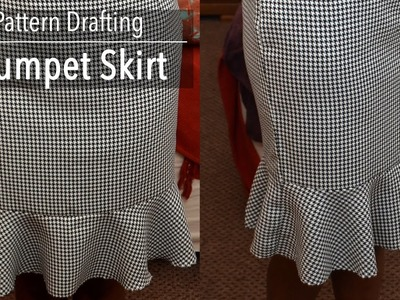 Pattern Drafting Tutorial - Trumpet Skirt