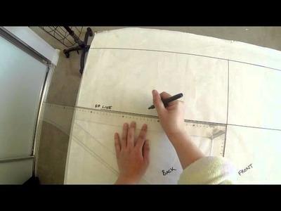 Pattern Making Tutorial - Drafting a Basic Skirt Block