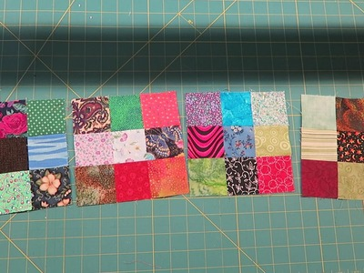 Sew With Me: Scrappy Nine Patches