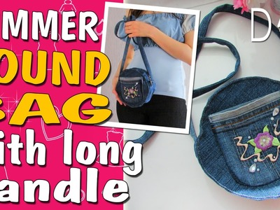 Sport Style JEANS BAG TUTORIAL| Old Jeans Recycle