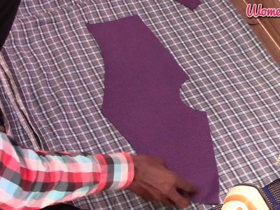 'V' Shoulder and Apple Cut Men Shirt Step by Step - 2. Ironing the Shirt Pieces (English Audio)
