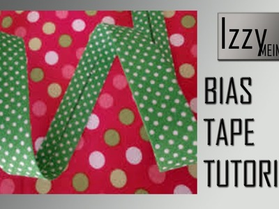 Bias Binding Tutorial. How to make a bias tape