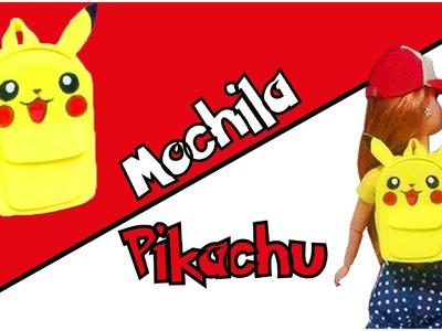 Como fazer Mochila do Pikachu para Bonecas Barbie, MH, EAH