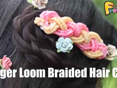 Finger Loom® Braided Hair Clip inspired by Claire's Wears