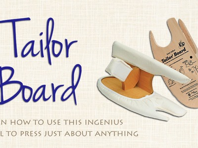 Learn How to Use a Tailor's Board Like the Professionals