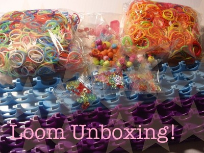 Loom Unboxing! (3000 Loom Bands + MORE)