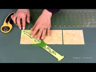 Make half-square and quarter-square triangle quilt blocks the easy way