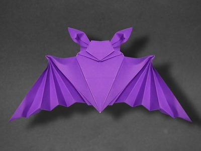 Origami: Bat - Instructions in English ( BR )