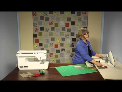 Quilting Quickly: Tossed Squares - Easy Quilt Pattern