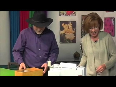 The Quilt Show Tutorial: French Fold Binding with Alex Anderson