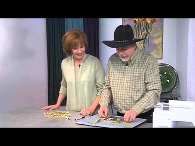 The Quilt Show Tutorial: Mitered Binding with Ricky Tims