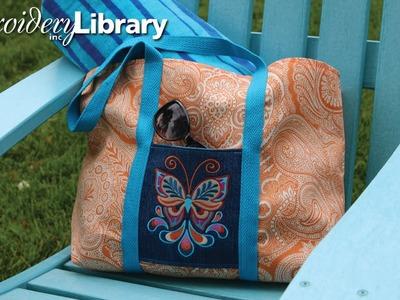 Two-Pocket Tote Bag