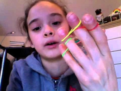 How to make dragon scale bracelet on your fingers