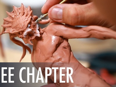How to Sculpt Predator: Sculpting Texture & Refining the Pose - FREE CHAPTER