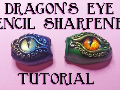 Polymer Clay Dragon's Eye Pencil Sharpener Tutorial