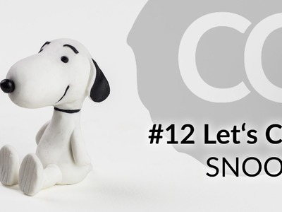 SNOOPY (Peanuts) – Polymer Clay Tutorial