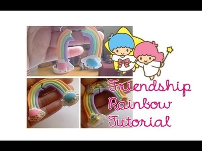 TUTORIAL: Little Twins Stars Rainbow Friendship BFF Clay Charm for AmazingCandC Collab