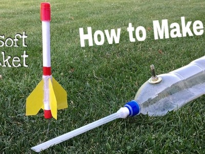 How to make a paper ' ROCKET LAUNCHER'' Homemade Things VVK Technical