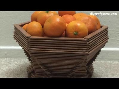 DIY POPSICLE FRUIT BASKET