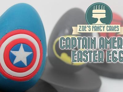 CAPTAIN AMERICA EASTER EGG Marvel superhero chocolate eggs