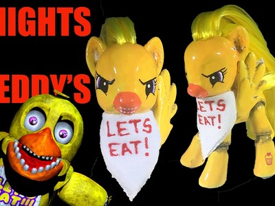 Custom MLP CHICA Five Nights At Freddy's My Little Pony FNAF Tutorial