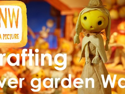 Halloween crafting tutorial : Over the Garden Wall -  Hard Times at the Huskin' Bee