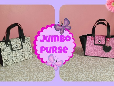 How to make a Jumbo Purse gift bag