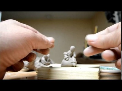 How To Sculpt Miniature Figures In Clay 2