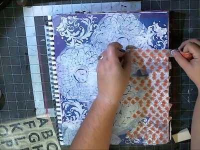 Mixed Media Monday - Art Journal - My Life Force